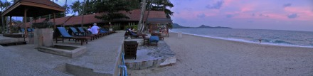 Lamai Beach vista desde el Golden Sand Resort