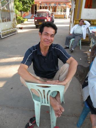 Mi conductor de tuk tuk
