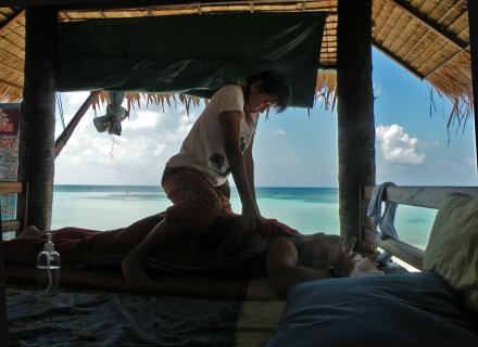 Masaje con el mar de fondo, puro lujo por 6 €