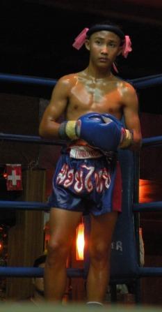 Antes de la pelea