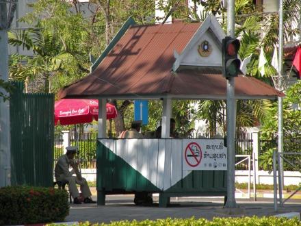 Puestos de poli ¿anti tabaco?