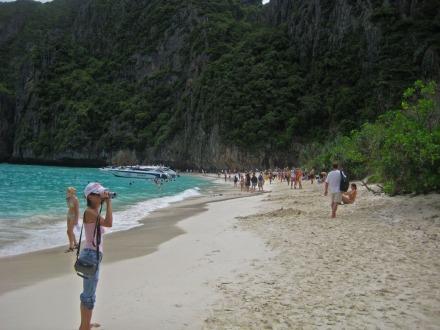 Maya Beach en octubre