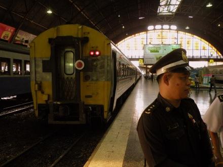 Tren nocturno Bangkok - Chiang Mai