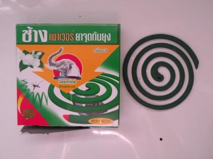 Espiral anti mosquitos