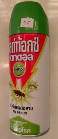 Spray anti mosquitos