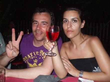 Santi y Vanesa