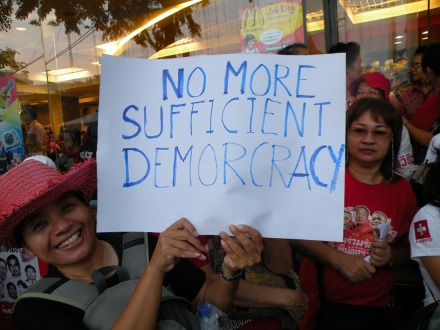 No more sufficient democracy