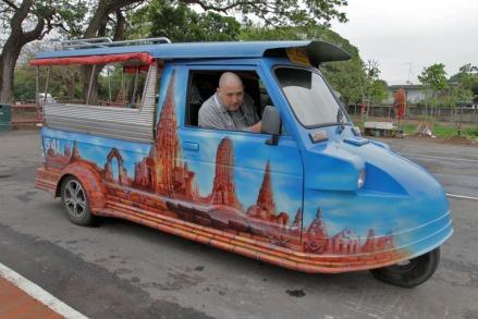 tuktuk Ayuthaya